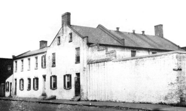 Picture of the Alexandria Jail building